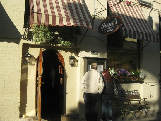 Irene's Cuisine : entrance to restaurant