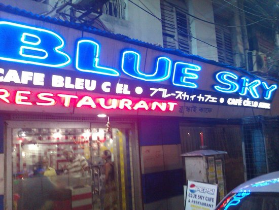 Blue Sky Cafe Kolkata