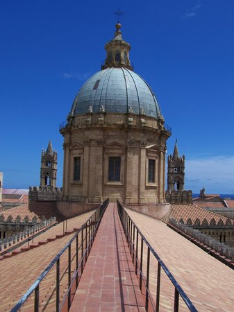 Cattedrale di Palermo: le toit