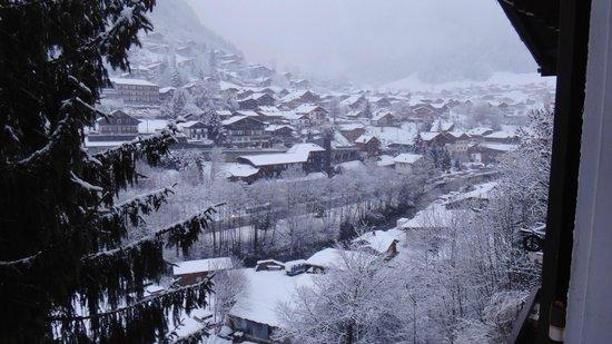 Chalets Club Les Gourmets: Fresh snow