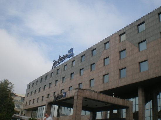 Radisson Blu Conference & Airport Hotel: bom descanso