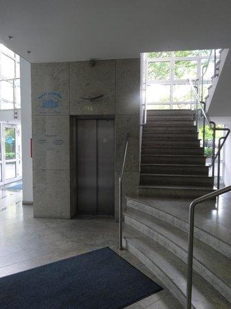 Hotel Arkadia: вход
