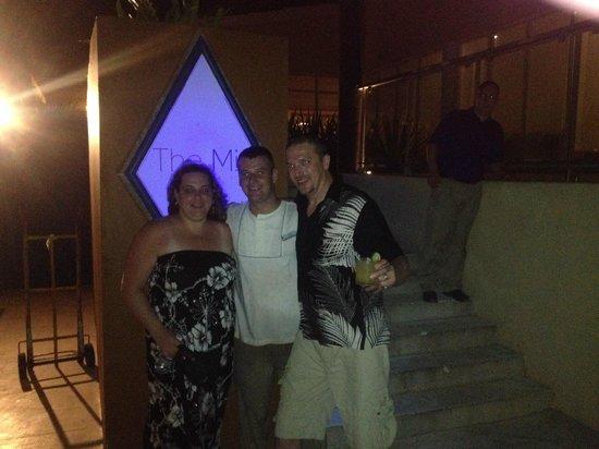 Now Jade Riviera Cancun Resort & Spa: Darius and Us
