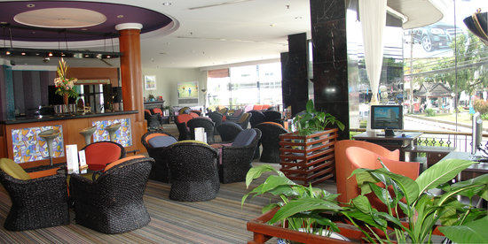 Metropole Hotel Phuket : Lobby Lounge