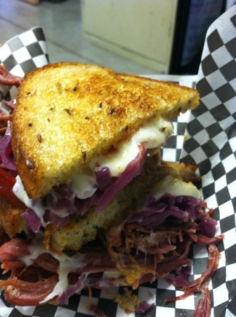 Slow Roasted Bocadillos New Mexico: The One and Only Duke City Ruben!!!