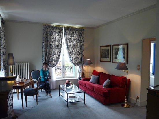 Le Clos - Relais et Châteaux : Suite n°3 : le salon.