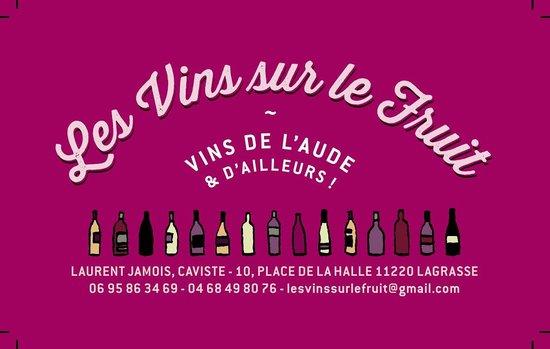 Cave Les Vins Sur Le Fruit CARTE DE VISITE