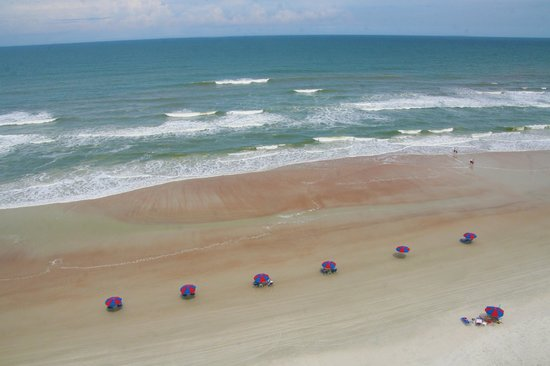Daytona Beach Resort and Conference Center: View from DBR