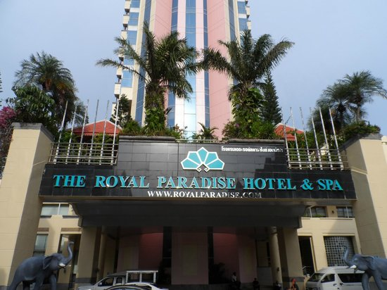 The Royal Paradise Hotel & Spa : the hotel main