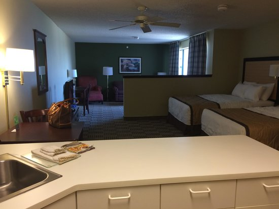 Extended stay america 1 bedroom suite floor plan weekly rate hotels extended stayer blog for Extended stay america one bedroom suite