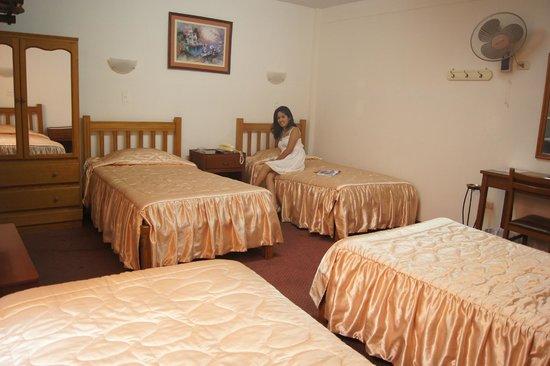 Hotel Santa Rosa: Amplia Habitacion Familiar