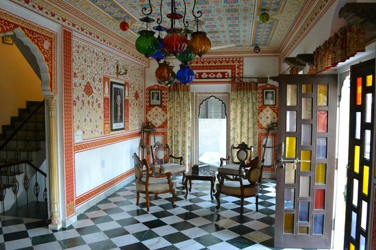 OYO 1674 Hotel Tordi Haveli: Reception Area