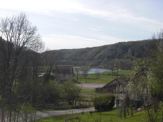 Fourbanne, Francia: View from the house
