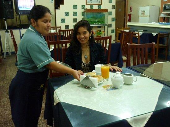 Hotel Santa Rosa: Desayuno Santa Rosa