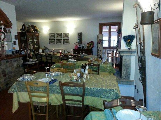 Puegnago sul Garda, Italia: Il ristorante