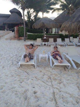 Azul Beach Resort Riviera Maya: Hermosa playa