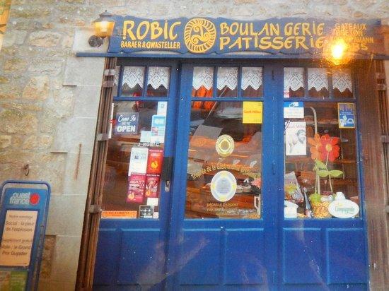 """Boulangerie-Patisserie Robic  - Salon de the Tamm'Bara : Salon de thé """"Tamm'Bara - Erdeven - Set de table"""