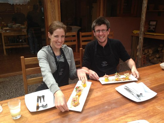 Cooking Lessons at Tree House: Cooking lesson with Lisa @ The Tree House gastronomic laboratory in Cusco