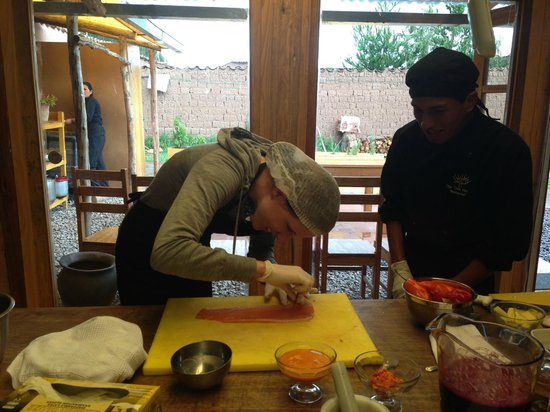 Cooking Lessons at Tree House: Cooking lesson @ The Tree House gastronomic laboratory in Cusco