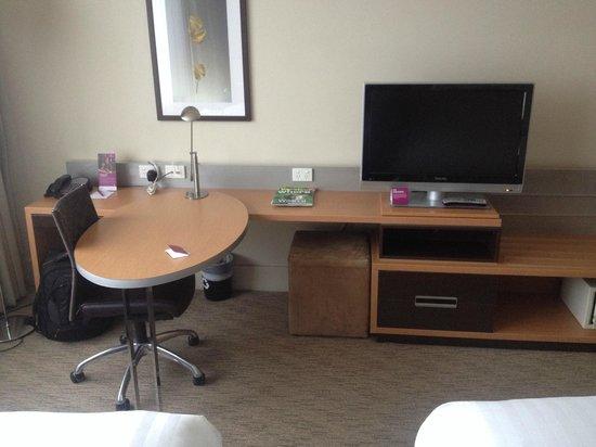 Crowne Plaza Melbourne: Standard Room
