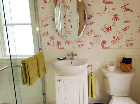 Long Dell Inn: Captains Bathroom