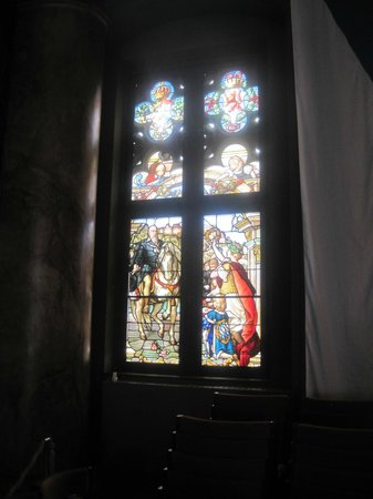 Altes Rathaus: Great Assembly Hall window, Alte Rathaus, Passau, Germany July 2013