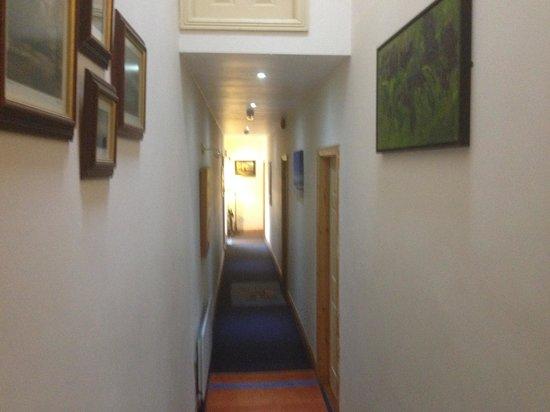 Pearse Lodge B&B: corridoio