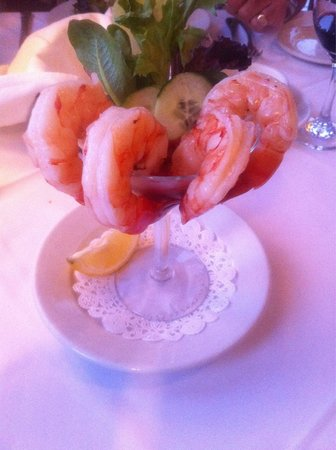 Commodore Waterfront Restaurant: Amazing shrimps at the Commodore! Delicious!