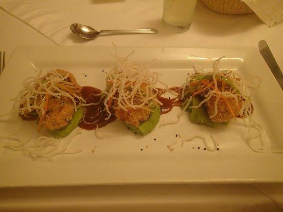 SUMAQ Machu Picchu Hotel: Dinner one night