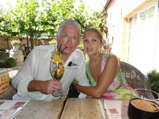 Brasserie De Wingerd : Het zomert op het terras !