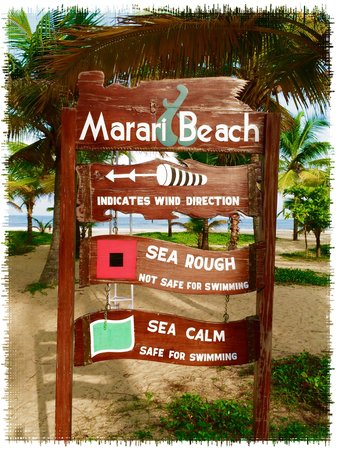 Marari Beach Resort : The beach board