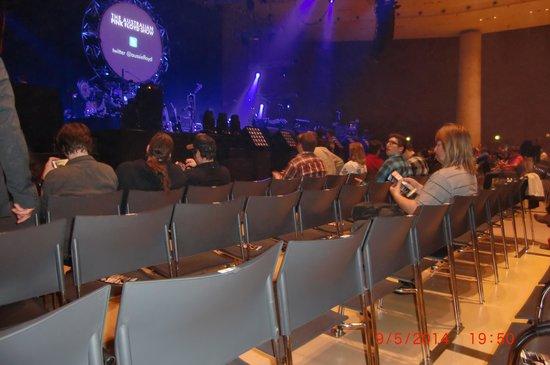 Stadthalle Graz: interno