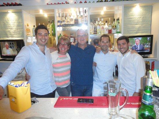 Aeolos Mykonos Hotel: Team Panos