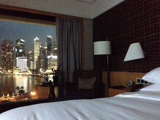 Mandarin Oriental, Singapore: Room with view
