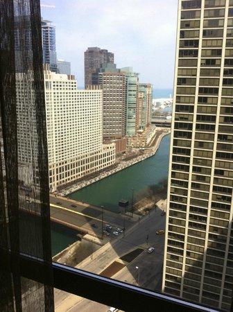 Hyatt Regency Chicago: View from my room.