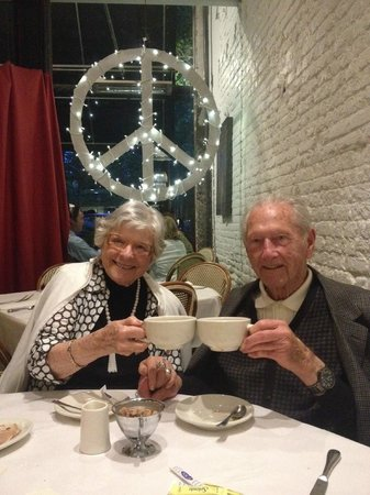 Ralph's House: 67th anniversary toast