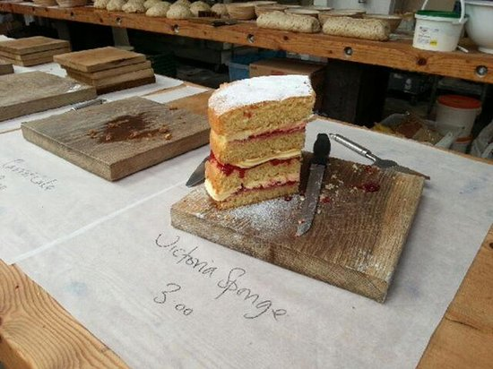 Town Mill Bakery: Now, that's what I call a piece of cake