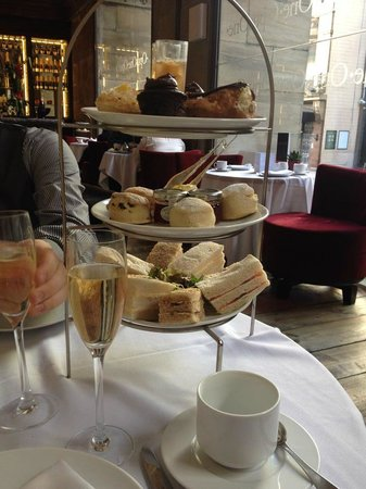 Opus One - Manchester: Afternoon tea tower for two