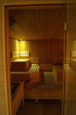 Art'otel Amsterdam: sauna