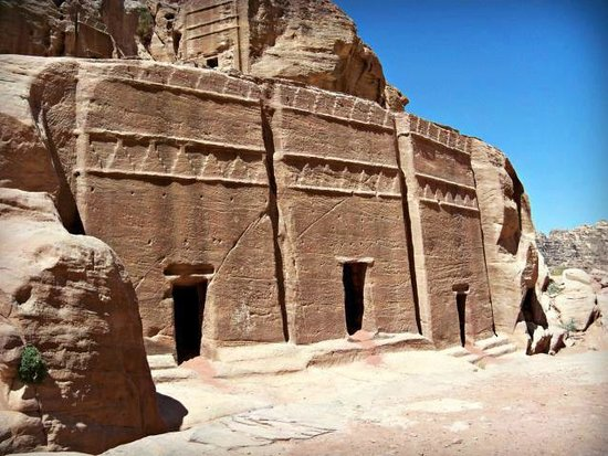 The Golden Triangle Travel Private Day Tours: some of the sights you will see once in Petra site