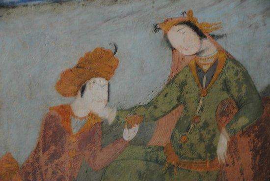 Aali Qapu Palace : frescos