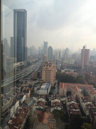 Hilton Shanghai: Blick auf das französische Viertel