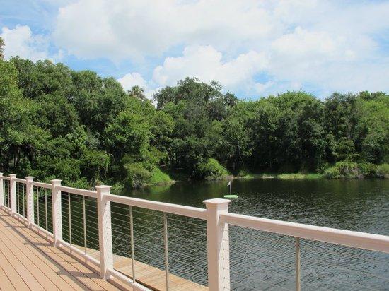 Sawgrass Marriott Golf Resort & Spa: Island Green Pavillion (for functions)