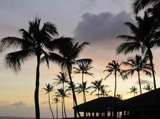 Sheraton Kauai Resort : Sunset