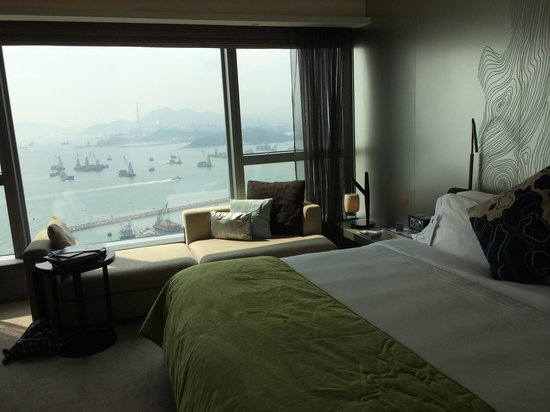 W Hong Kong: Our room