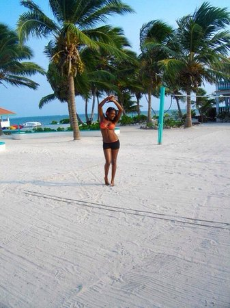 Belizean Shores Resort : Having a time of my life