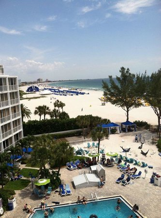 Guy Harvey Outpost, a TradeWinds Beach Resort : This is taken from our suite on the 6th floor, looking south towards the Island Grand campus