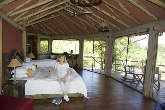 "Tarangire Treetops : Our ""treehouse"""