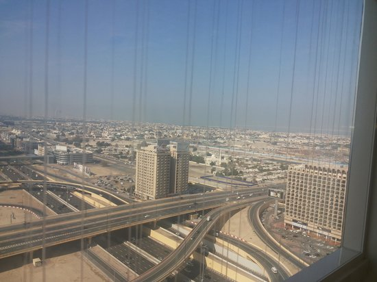 Dusit  Thani Dubai: beautiful view from the restaurant