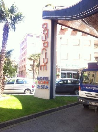 Hotel GHT Aquarium & SPA: entrada
